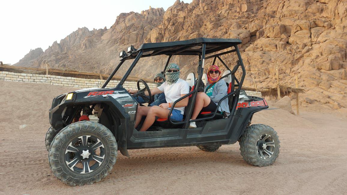Buggy Car Polaris 2-4 Seat